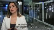 אילנה דיין מגישה את הפתיח לתחקירה על הרב פינטו, 2014 (צילום מסך)