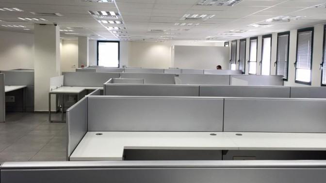 משרדי תאגיד השידור הציבורי החדש בתל-אביב (צילום: טל שניידר, הפלוג)