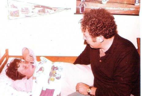 אבא ואני (צילום: אלבום משפחתי)