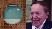 שלדון אדלסון וחלון באולם בית-המשפט העליון (צילומים: צילום מסך ופלאש 90)