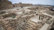 האתר הארכיאולוגי קומראן, בשטחי יהודה ושומרון (צילום יצחק הררי)