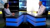 חגי סגל ורוית הכט בערוץ הכנסת (צילום מסך)