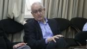 """מו""""ל """"הארץ"""" עמוס שוקן בישיבת נשיאות מועצת העיתונות, 28.3.16 (צילום: אורן פרסיקו)"""