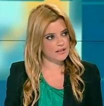 """סיון כהן, בעבר כתבת הרכילות ב""""כל העיר"""" (צילום מסך)"""