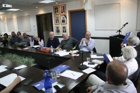 ישיבת מליאת מועצת העיתונות, 28.3.2016 (צילום: אורן פרסיקו)