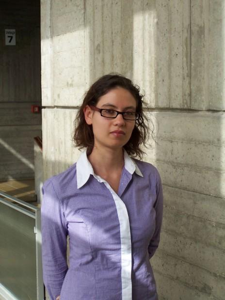 ענת קם בבית-המשפט, 10.3.2010 (צילום: אורן פרסיקו)