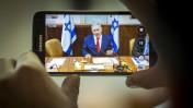 ראש הממשלה ושר התקשורת, בנימין נתניהו, מדבר בישיבת ממשלה. 15.5.16 (צילום: אמיל סלמן)