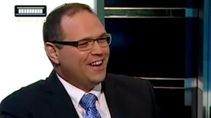 אריאל סנדר (צילום מסך מתוך שידורי ערוץ הכנסת)