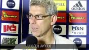 התובע, מיטש גולדהאר (צילום מסך מתוך ערוץ היוטיוב של מכבי תל-אביב)