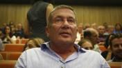 איש העסקים נוחי דנקנר בבית-המשפט המחוזי בתל-אביב, שם הורשע בעבירות של תרמית בניירות ערך, 4.7.16 (צילום: עמי שומן, פלאש 90)
