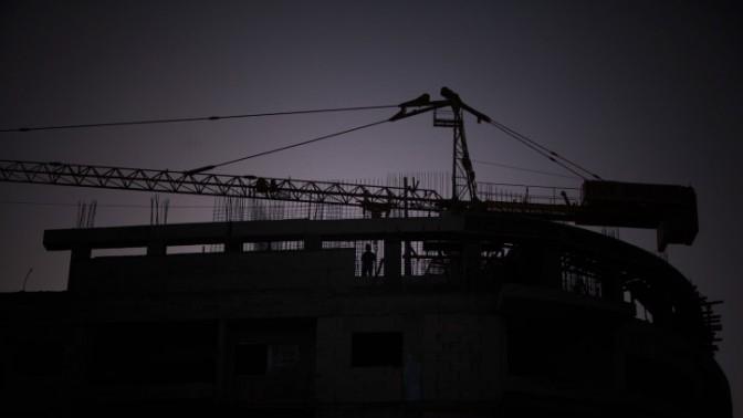 אתר בנייה (צילום: יונתן זינדל)