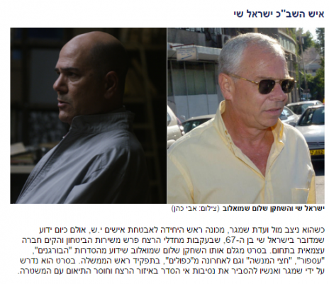הפרסום הדיבתי באתר ynet (צילום מסך)