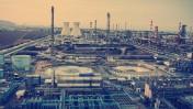 מפעלי התעשייה במפרץ חיפה (צילום: פלאש 90)