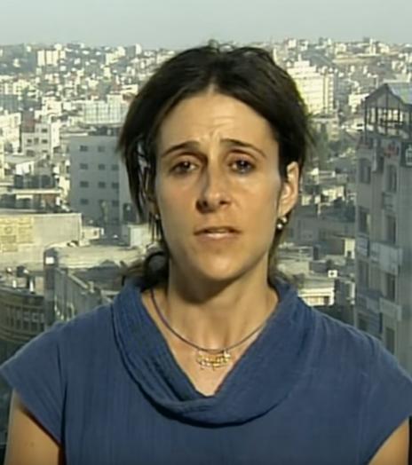 """עו""""ד שרי בשי (צילום מסך: אלג'זירה)"""