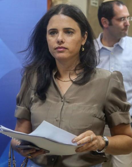שרת המשפטים איילת שקד (צילום: מארק ישראל סלם)