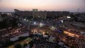 רבבות אזרחים מצרים בתפילת מחאה נגד הדחתו של הנשיא מוחמד מורסי, יולי 2013 (צילום: ויסאם נסאר)