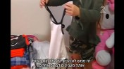 """""""דוגמניות קטנות: ילדות בכיתה א' מול אור הזרקורים"""", צילום מסך מהכתבה בחדשות ערוץ 2"""