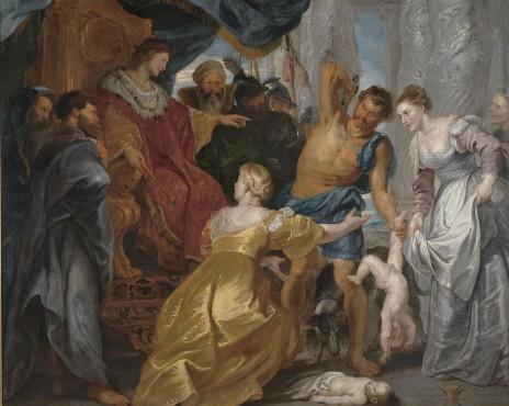משפט שלמה (ציורו מאת פטר פאול רובנס, סביבות 1617, נחלת הכלל)