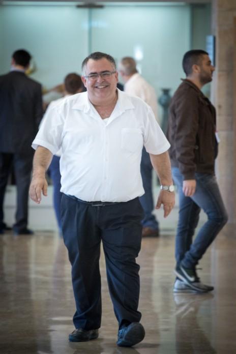 """יו""""ר הקואליציה דוד ביטן, 28.11.16 (צילום: מרים אלסטר)"""