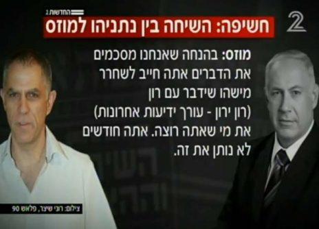 """תלונה ליועמ""""ש: פתח בחקירה פלילית נגד ראש הממשלה נתניהו בגין קשריו עם """"ישראל היום"""" D370-126-464x334"""