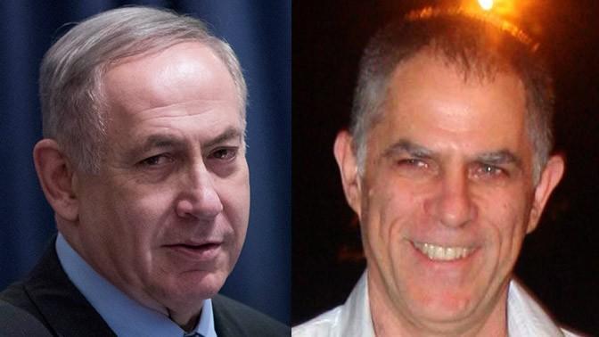 """מו""""ל """"ידיעות אחרונות"""" ארנון (נוני) מוזס וראש ממשלת ישראל בנימין נתניהו (צילומים: רוני שיצר ויונתן זינדל)"""