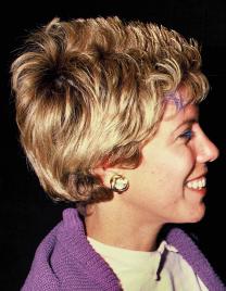 ג'ודי ניר-מוזס, 1985 (צילום: משה שי)