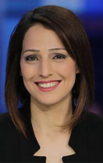 """ראדיר כאמל מריח, מגישת """"חדשות השבת"""" (צילום: איהאב חוסרי)"""