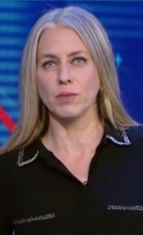 """מרב מילר, מגישת """"חשבון יומי"""" (צילום מסך)"""
