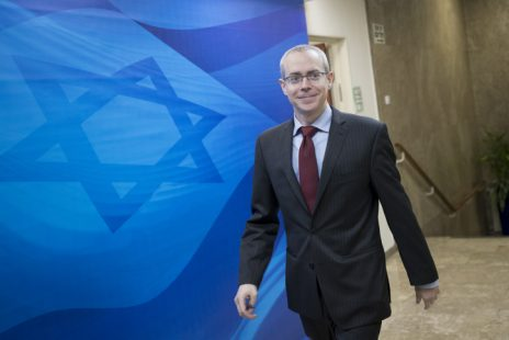 רן ברץ, בעת שעבד במשרד ראש הממשלה כיועץ בכיר לענייני הסברה, 11.12.16 (צילום: יונתן זינדל)