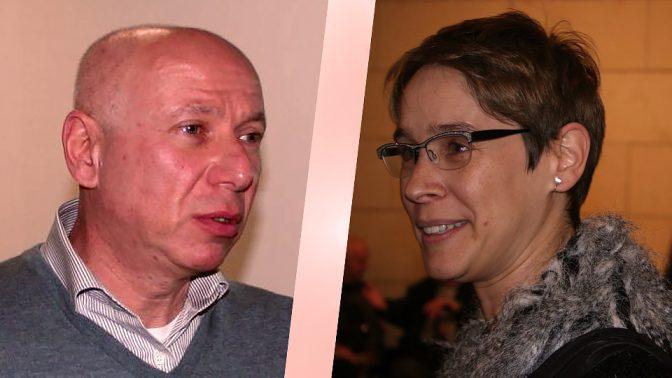אלונה בר-און ודוד דוידוביץ' (צילומים: אורן פרסיקו)