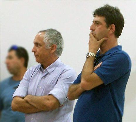 """זליג רבינוביץ' (מימין) ומיקי מירו (צילום: """"העין השביעית"""")"""