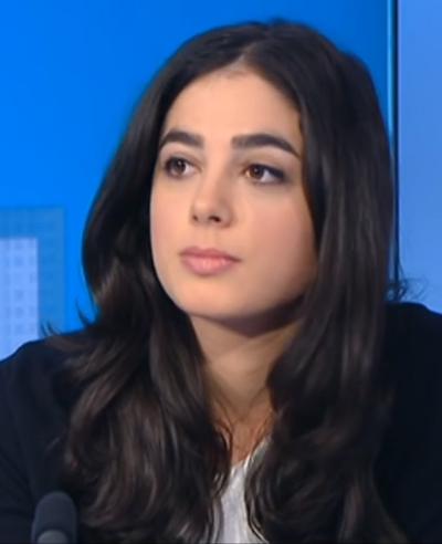 אלכסנדרה אל-חאזן, ראש דסק המזרח התיכון בארגון RSF (צילום מסך)