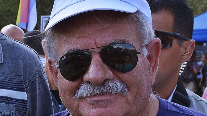 וג'יה כיוף, ראש מועצת עוספיא (צילום: יואב איתיאל)