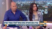 מיה זיו-וולף ואור הלר בערוץ 10 (צילום מסך)