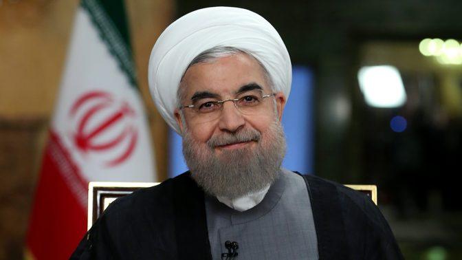 נשיא איראן, חסן רוחאני (צילום: محمدصالح احتشامی, CC-by-SA-4.0)