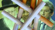 """מימין: מנכ""""ל פיליפ-מוריס העולמית אנדרה קלנצופולוס, מנכ""""ל """"וואלה"""" אילן ישועה ושר הבריאות יעקב ליצמן (צילומים: צילום מסך, דוברות """"וואלה"""" ופלאש 90)"""