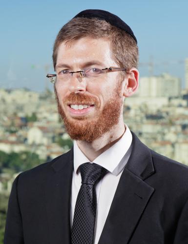 """הרב יהושע פפר (צילום: """"צריך עיון"""")"""