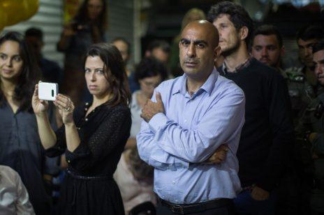 """עו""""ד ברק כהן באירוע """"שופטים על הבר"""" בירושלים, 5.6.17 (צילום: הדס פרוש)"""