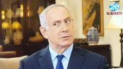 ראש הממשלה בנימין נתניהו מתראיין לערוץ 20 (צילום מסך)