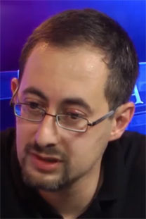 """אלכסנדר קוגן, סגן העורך של """"יזרוס"""" עם סגירתו (צילום מסך)"""