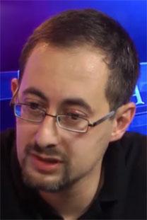 "סגן עורך ""יזרוס"" לשעבר, אלכסנדר קוגן (צילום מסך)"