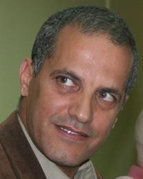 העיתונאי יאסר עוקבי (צילום: אורן פרסיקו)