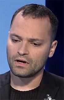 """אלכסנדר גולדנשטיין, עורך """"יזרוס"""" אחרי פלקוב (צילום מסך)"""