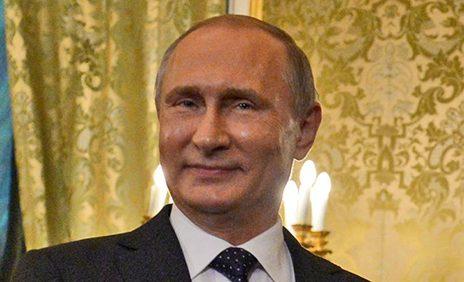 """נשיא רוסיה ולדימיר פוטין (צילום: חיים צח, לע""""מ)"""