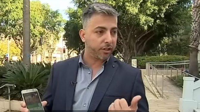 """שגיב קורן, הבעלים של Mysmarty (צילום מסך מכתבה ב""""לילה כלכלי"""" על האפליקציה)"""
