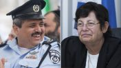 """נשיאת בית המשפט העליון מרים נאור ומפכ""""ל המשטרה רוני אלשיך (צילומים: פלאש 90)"""