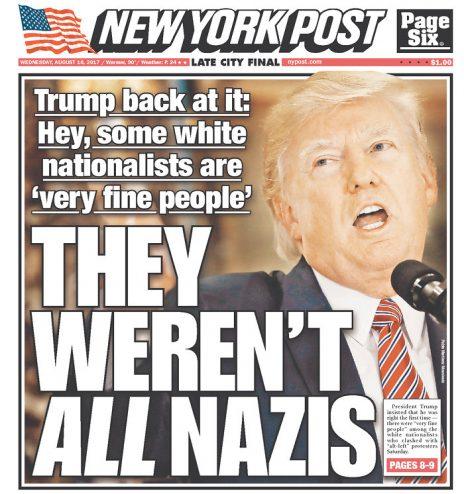 """""""ניו יורק פוסט"""": לא כולם היו נאצים"""