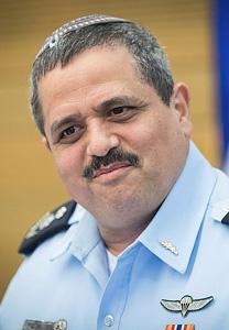 """רוני אלשיך, מפכ""""ל משטרת ישראל (צילום: יונתן זינדל)"""