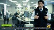"""השחקן יוסי מרשק בתשדיר """"משטרת הקיטורים"""" של ועדת הבחירות המרכזית, 2015 (צילום מסך)"""
