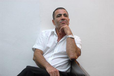 יוסי בן-דוד, ראש עיריית יהוד-מונוסון לשעבר, בבית-משפט השלום בתל-אביב (צילום: יונתן זינדל)